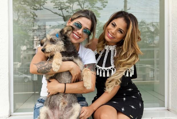 Vanessa Mesquita e Lexa (Foto: Divulgação / Adriana Barbosa)