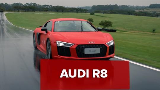 Audi R8: primeiras impressões