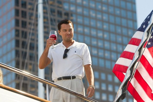 Leonardo DiCaprio em 'O Lobo de Wall Street' (Foto: Divulgação)