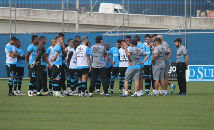 Treino Grêmio (Foto: Eduardo Moura/GloboEsporte.com)