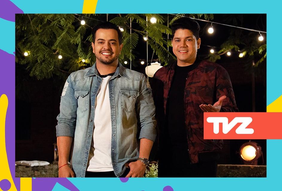 Henrique e Diego comandam o TVZ desta tera-feira (29) (Foto: Divulgao)