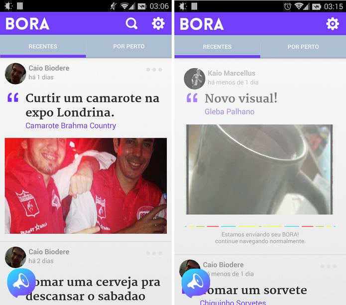 Bora Social é um aplicativo para encontrar lugares de lazer e locais turísticos (Foto: Divulgação)