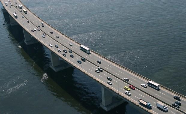 Ponte Rio-Niterói (Foto: Ricardo Zerrenner / Riotur)