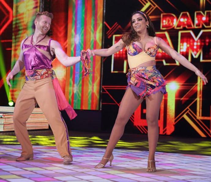 Anitta no 'Dança dos Famosos' 2014 (Foto: Gshow)