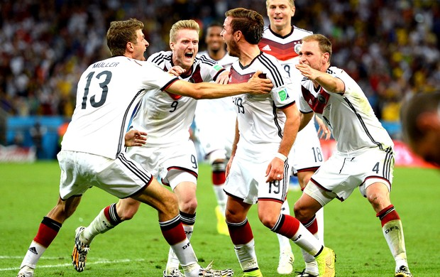 Mario Gotze gol final Alemanha x Argentina (Foto: Getty Images)