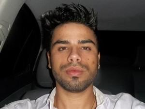 Vitor, da dupla Vitor e Thiago, supeito de agredir a ex-mulher em Goiânia (Foto: Arquivo Pessoal/Murilo Neves)