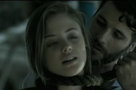 Brenda Sabryna e Bruno Gagliasso em 'Dupla identidade' (Foto: Reprodução)