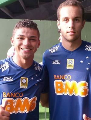 Judivan e Hugo Ragelli, Cruzeiro (Foto: Marco Antonio Astoni)