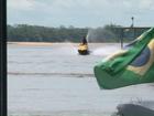 Praias do Rio Paraná atraem turistas pela tranquilidade e belas paisagens
