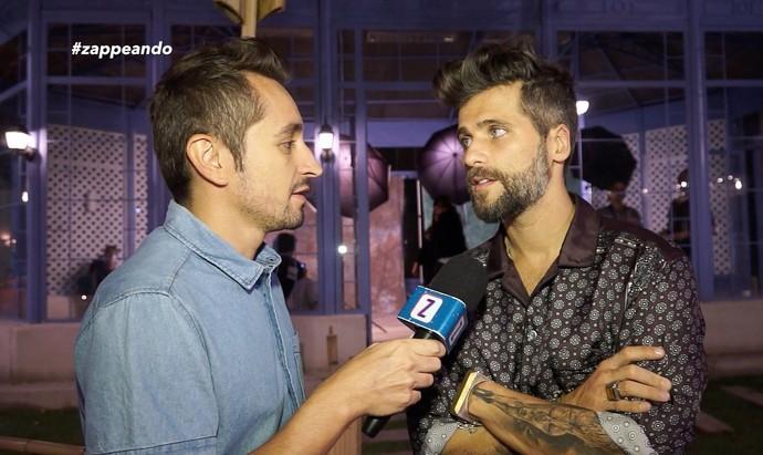 Bruno Gagliasso fala sobre seu novo personagem (Foto: Rede Amazônica)