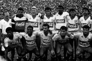 time do Bahia campeão de 1988 posado (Foto: Reginaldo Pereira / Agência O Globo)