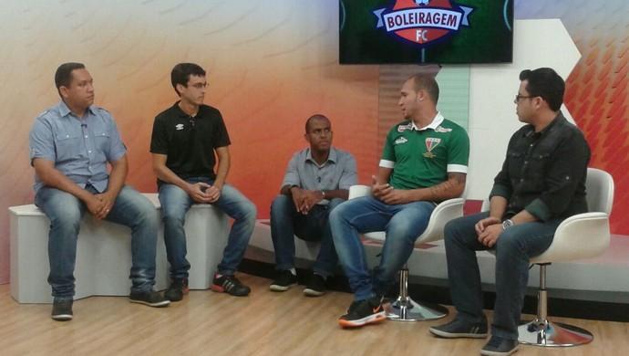 Boleiragem FC 13 recebe o atacante Tito, do Operário VG (Foto: Hudson Branco/TVCA)