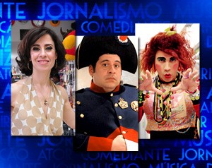 Indicados - Humor (Foto: Domingão do Faustão / TV Globo)