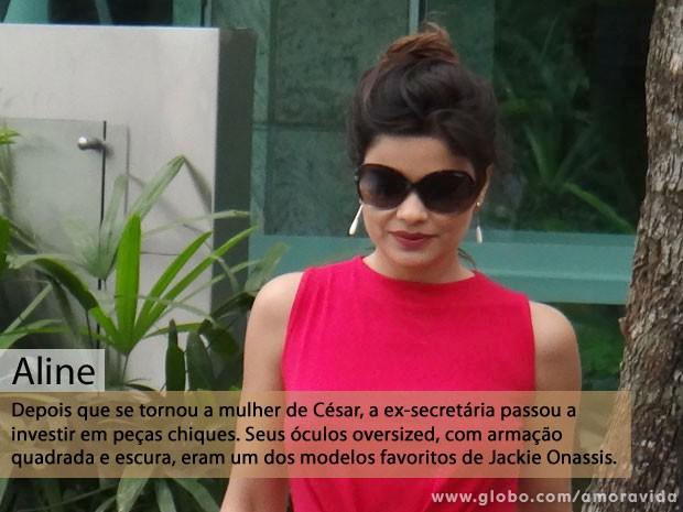 Aline (Foto: Amor à Vida/TV Globo)