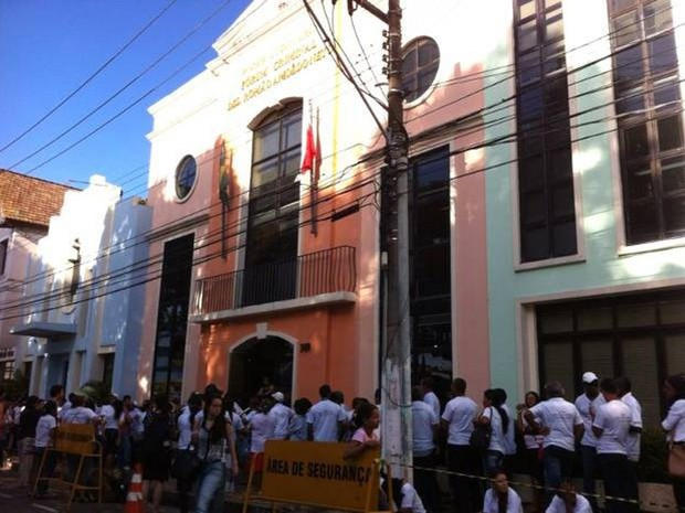 Fórum Criminal de Belém (Foto: G1 PA)