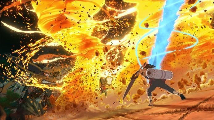 Naruto Shippuden: Ultimate Ninja Storm 4 promete novos gráficos (Foto: Divulgação)