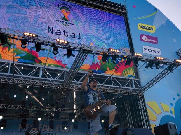 Fan Fest em Natal terá diversas atrações locais e nacionais (Foto: Rafael Barbosa/G1)