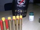 PM apreende espingardas, munições e DVDs falsificados em Ariquemes