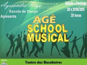 Agê School Musical é atração do Bacabeiras no sábado e domingo (Foto: Divulgação)