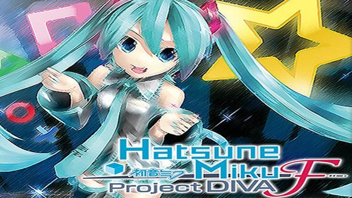 Hatsune Miku Project Diva f traz cantora virtual pela primeira vez para o ocidente (Foto: vgboxart.com)
