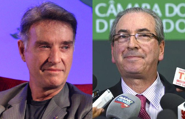 Empresa de Eike Batista teria dado propina a Eduardo Cunha (Foto: Reprodução/Facebook e Wilson Dias/Agência Brasil)