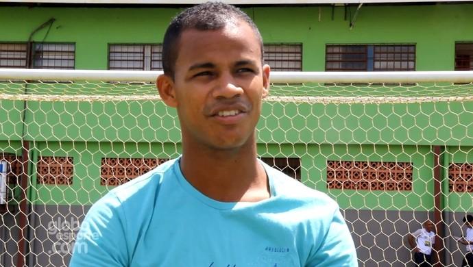 Gessé, atacante do Atlético-AC (Foto: João Paulo Maia)