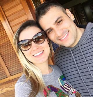 Andressa Urach e Tiago  (Foto: Reprodução / Instagram)