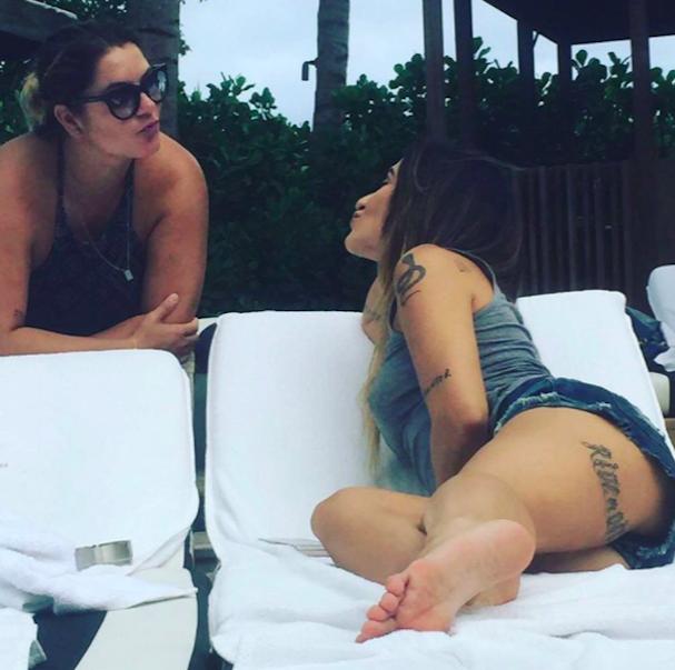 A amiga Juju Zanon e Cleo Pires (Foto: Reprodução/Instagram)