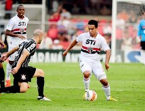 Jadson jogo Corinthians São Paulo Paulista (Foto: Marcos Ribolli / Globoesporte.com)
