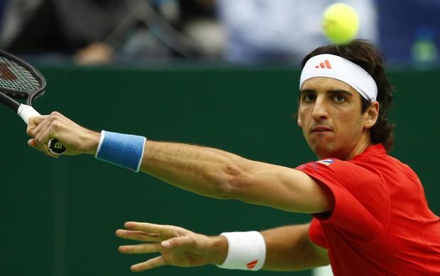 Thomaz Bellucci tênis ATP de Moscou (Foto: Reuters)
