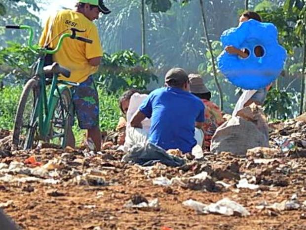 Funai diz que acompanha famílias e busca alternativas para retirá-los do local e encaminhá-los para as aldeias (Foto: Antônio Messias/Arquivo Pessoal)
