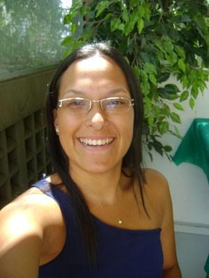 Janaína Nunes teve sua marmita furtada da geladeira da firma (Foto: Arquivo pessoal)