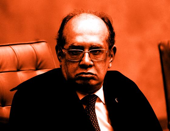 O ministro Gilmar Mendes.Ele enxerga a necessidade de limiotes aos procuradores para fazer acordos de delação (Foto:  Agência Senado)