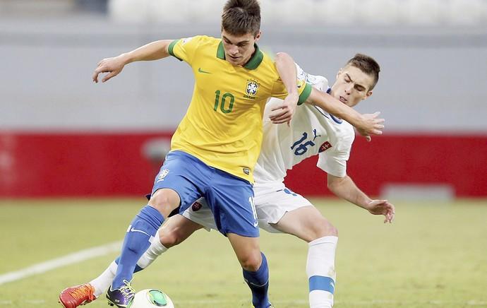 Brasil Natan Mundial Sub 17 (Foto: EFE)