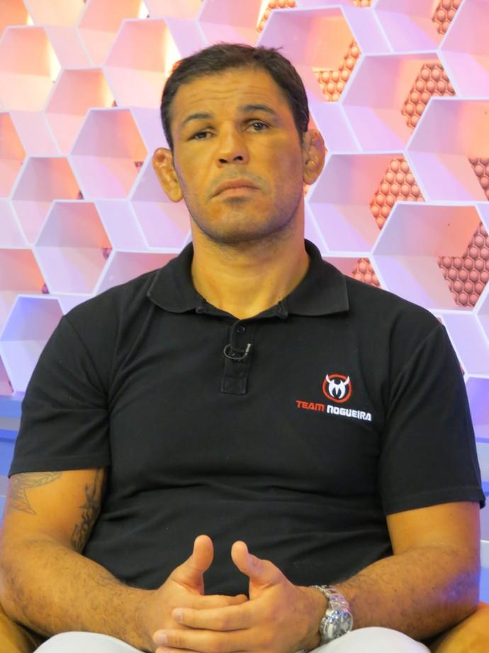 Minotauro no Corujão do Esporte (Foto: Daniel Cardoso)