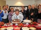 Lula comemora 67 anos com Dilma e ministros em São Bernardo