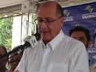Alckmin fala sobre elevação no volume Cantareira: 'Motivo de alegria'