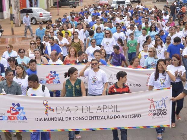 Dia Mundial de Conscientização do Autismo é celebrado no dia 2 de abril (Foto: Divulgação/ Secom-RR)