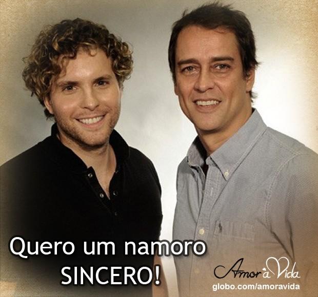 Namoro sincero (Foto: Amor à Vida / TV Globo)