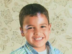 Gabriel, de 6 anos, morreu após ser picado por escorpião, aponta atestado de óbito (Foto: Cláudio Oliveira/EPTV)