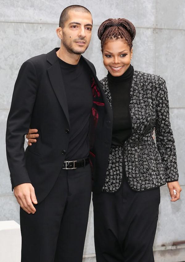 A cantora Janet Jackson e o empresário Wissam Al Mana (Foto: Getty Images)