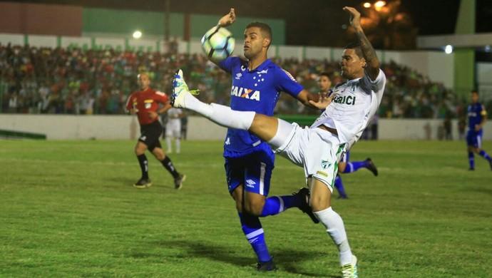 Murici x Cruzeiro, em Murici (Foto: Ailton Cruz / Gazeta de Alagoas)