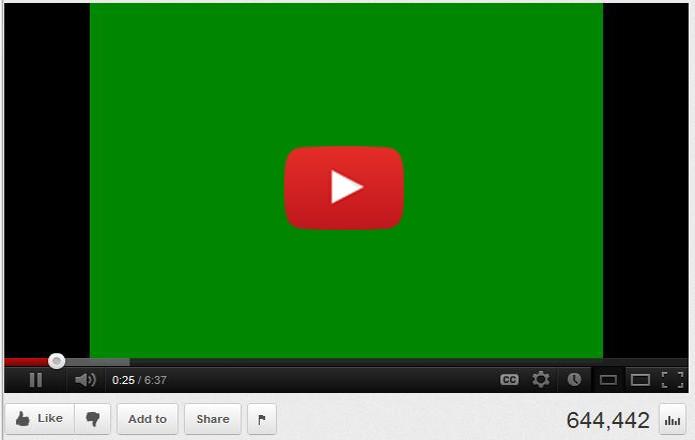 Tela verde no YouTube; saiba como resolver no seu computador (Foto: Arte/TechTudo)
