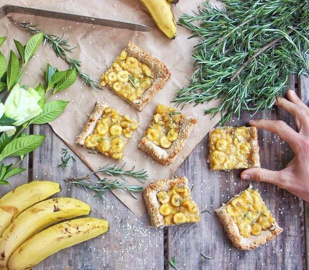Torta de banana vegana: aprenda a receita (Foto: Divulgação)