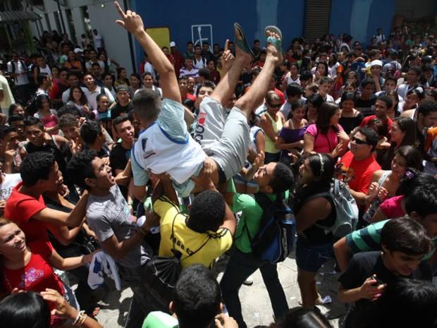 Primeira seleção de 2012 já tinha aprovado mais de 700 candidatos. (Foto: Igor Mota / Amazônia Jornal)