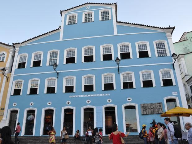 Fundação Casa de Jorge Amado (Foto: Eric Luis Carvalho/Globoesporte.com)