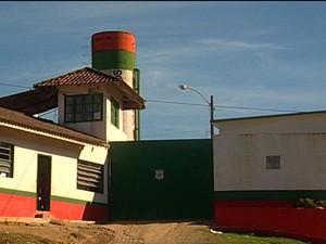 Presídio de Joinville (Foto: Reprodução/RBS TV)