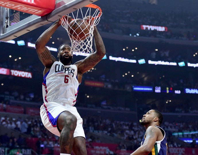 Los Angeles Clippers x Utah Jazz, NBA, playoffs (Foto: Getty Images)