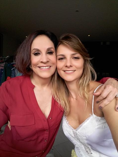 Stella Miranda e Carolina Chalita (Foto: Divulgação)