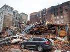 Corpo é encontrado perto de local de explosão em Nova York